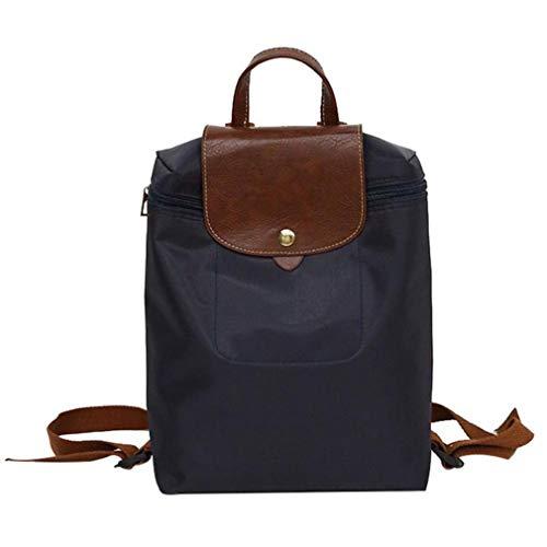 Jikibag Solid Shoulder School Backpack Backpacks Leisure Travel Bag Black
