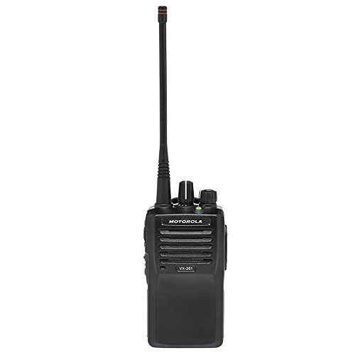 Motorola Original VX-261-G7-5 UHF 450-512 MHz Handheld Two-way Transceiver with High Capacity Battery ()