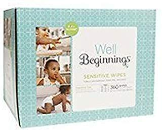 Well Beginnings Wipes Refill Sensitive, 360 ea
