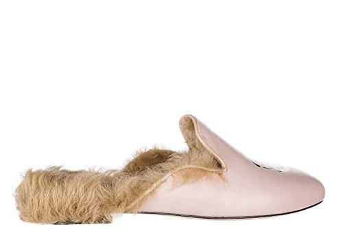 Chiara Ferragni Womens Tofflor Sandaler Rosa