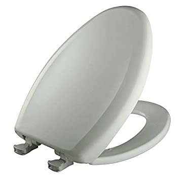 Bemis 1200SLOWT 160 Slow Sta-Tite Elongated Closed Front Toilet Seat Euro White