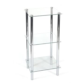 Elegant Designer Free Standing Shelf Unit Bathroom Shelf Unit with
