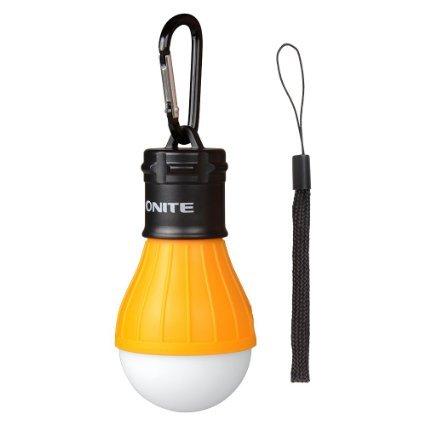Onite Portable Anywhere Battery LED Light Bulb Ideal for Garage Loft Camp Children Room (DayWhite)