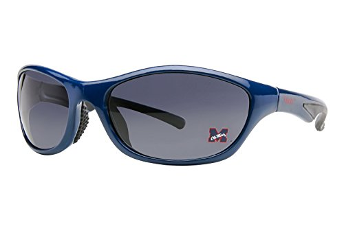 Mississippi Old Miss Rebels Collegiate Polarized Sunglasses, Full Rim, - Rebel Sunglasses Polarized