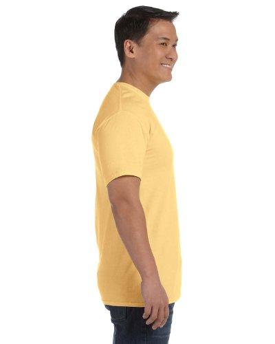 Yellow Colour - Comfort Colours Adults Unisex Short Sleeve T-Shirt (M) (Butter)