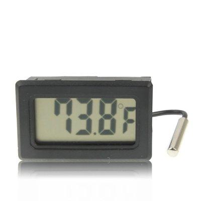 Minirock LCD Innen Digital Thermometer SHI (Farbe : Weiß)