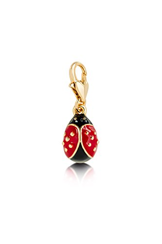 - Disney Couture Tinker Bell Ladybug Charm