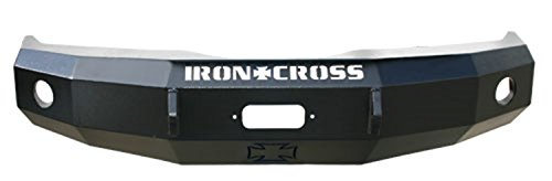 Iron Cross F150 Ford - Iron Cross Automotive 24-415-09 Heavy Duty Full Guard Front Bumper for 2009 to 2014 Ford F-150
