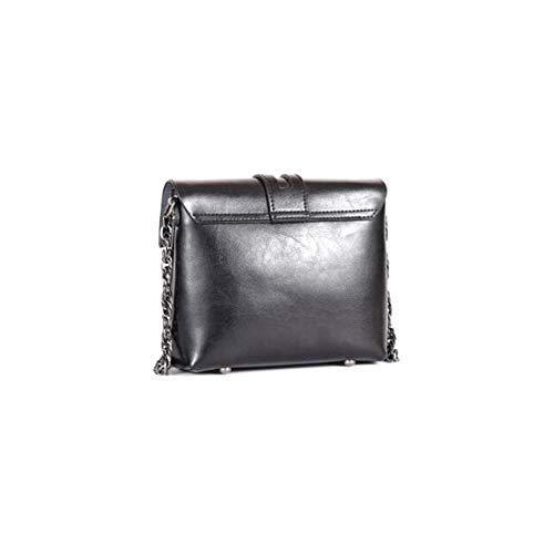 LH-NAUGHTY Mode damväska enkel tygväska stor axel sned mjuk läderväska, 20 x 8 x 18 cm (L x B x H), A