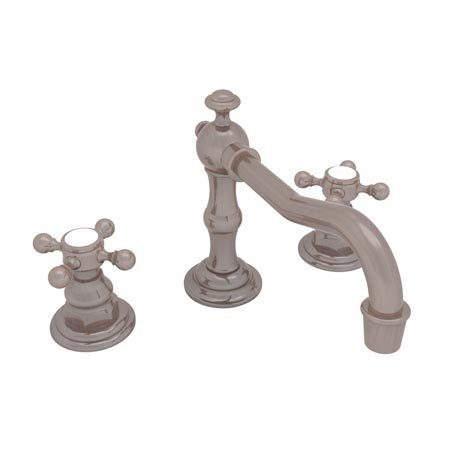 Newport Brass 930 Chesterfield Double Handle Widespread Lavatory Faucet with Met, Venetian (Brass 930 Double Handle)
