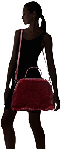 Bordeux Rouge Borse 8473 main à Chicca sac Bordeux x6zqYwnH