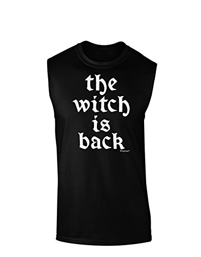 TOOLOUD The Witch is Back Dark Muscle Shirt - Black - XL -