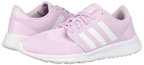 adidas Women's Cloudfoam QT Racer, White/aero Pink, 5.5 M US by adidas (Image #5)