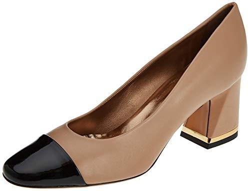 Negro Tacón Mujer Zapatos shade Mascaro Cerrada Con Shade 47828 coton Beige Hades De Para coton Punta qHxwPtx