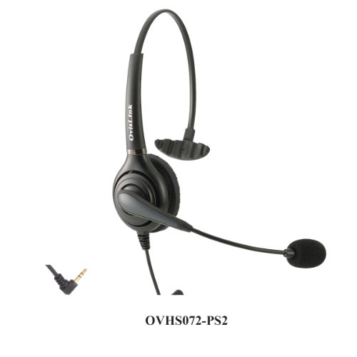 OvisLink Noise Canceling Call Center Headset Compatible w...