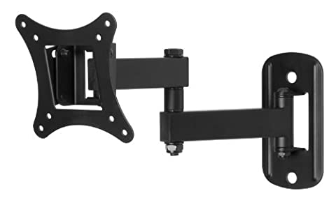 Swift Mount SWIFT140-AP Multi-Position TV Wall Mount for TVs up to 25-inch (Monitor Wall Mount Flush)