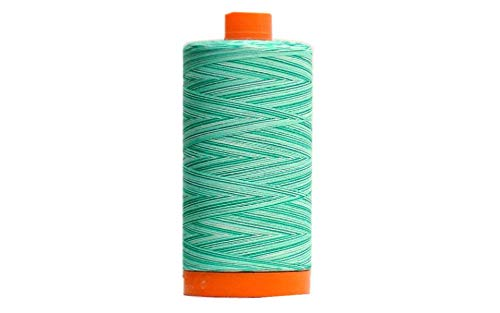 (Aurifil Mako Cotton Embroidery Thread 50wt 1422yds Variegated)