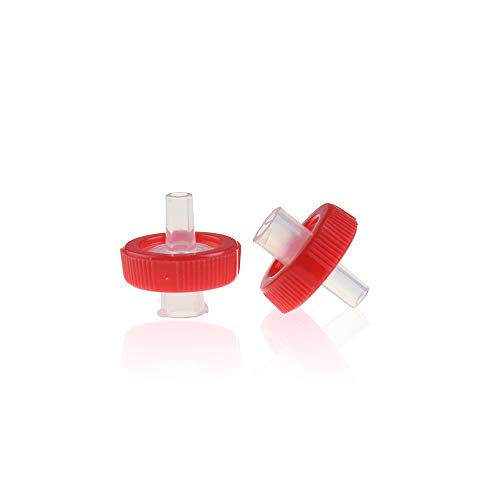 ALWSCI Syringe Filters PTFE Membrane 13mm Diameter 0.45um Pore Size Non Sterile Pack of 10