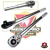 3/4'' X 20'' Industrial-Grade Ratchet Handle