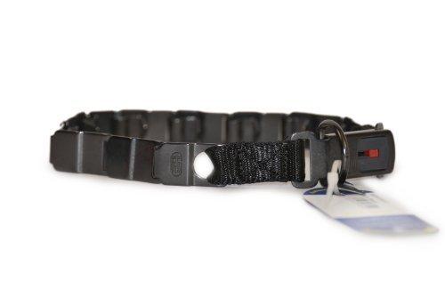 Herm Sprenger Original NEW Pinch Collar ''Neck Tech Black'', Size: 19'' , Stainless Steel, Includes Quick Release Stainless Steel Snap Hook by HERM SPRENGER