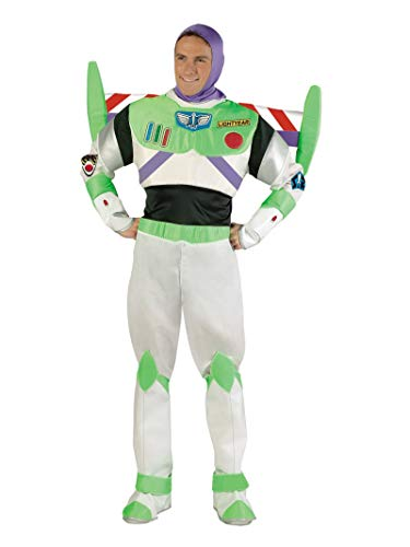 Adult Elegant Buzz Lightyear Costume-Standard(42-46) -