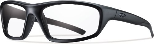 Smith Optics Director Tactical Sunglass with Black Frame (Clear ()