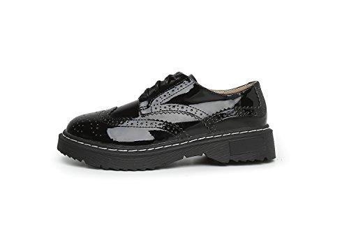 Lacets 36 Noir Minotta 5 Chaussures Femme de Noir Ville à pour wwFZqIUx