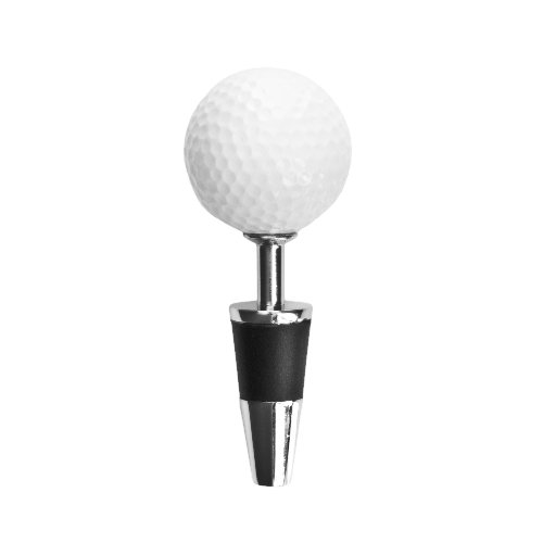 (Topspin Golf Ball Bottle Stopper by True)