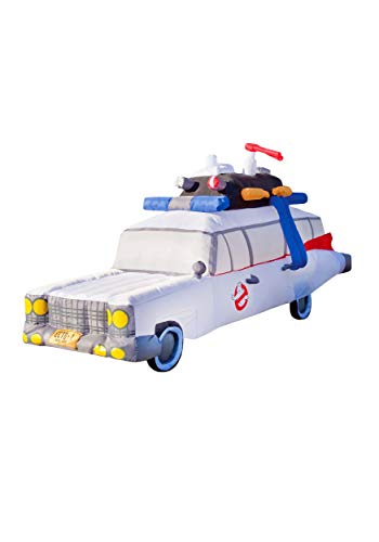 Forum Novelties Ghostbusters Car Classic Ecto-1 Inflatable Prop for Halloween 9 Feet Long]()
