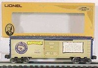 Lionel 9433 Joshua Lionel Cowen Commemorative Golden Years Box Car