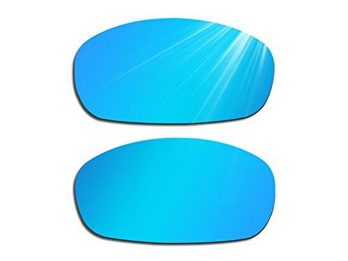 Glintbay Harden Coated Replacement Lenses for Costa Del Mar Brine - Polarized Ice Blue - Lenses Brine Costa