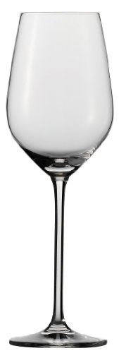 (Schott Zwiesel Tritan Crystal Glass Fortissimo Stemware Collection White Wine Glass, 13.7-Ounce, Set of 6)