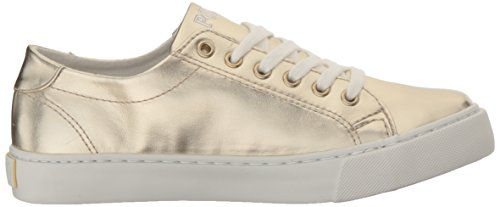 Polo Ralph Lauren Slater J Gold Synthetic Youth Trainers Gold