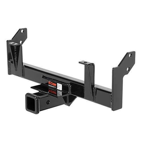 (CURT 31061 Front Hitch with 2-Inch Receiver, Fits Select Nissan)