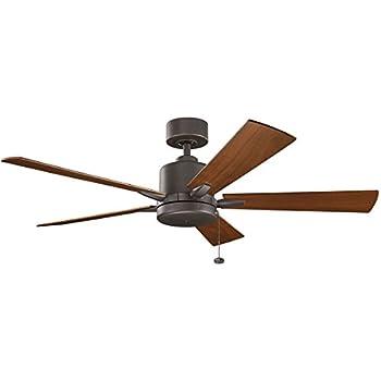 Kichler 330242ni 52 Inch Bowen Ceiling Fan Pull Chain