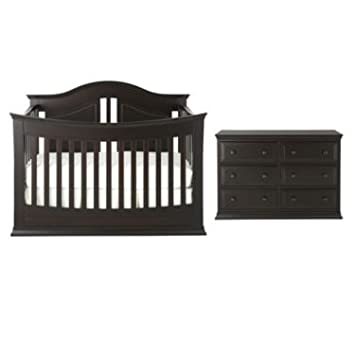 Rockland Austin 2 Pc. Baby Furniture Set U2013 Espresso   Class Meets Comfort In