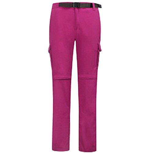 Di Solido Dyf 4xl Sci Rossa Peluche Pantaloni w Scivolamento Allo Pantaloni Salita Ispessita Resistenza Colore Rosa IFwxCZZEdq