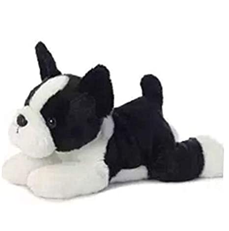 Amazon Com Plush 12 Inch Flopsie Buster Boston Terrier Dog Plush