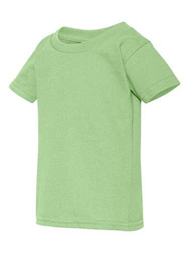 (Gildan Todler Boy's Heavy CottonTM 5.3 oz. T-Shirt, Mint Green, 3T )
