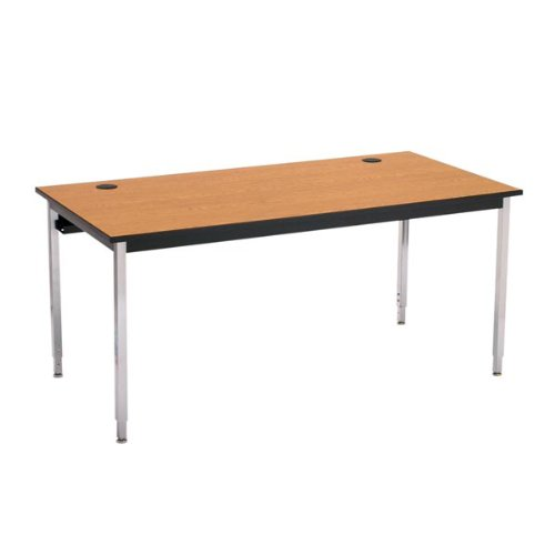 (1500 Series Computer Table - Fixed-Height Leg (24