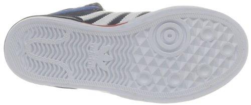 Niños Unisex K adidas Blanco 2 Azul Court Top xFqz7X