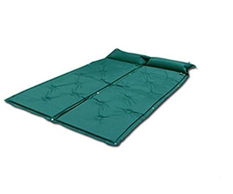 gaohl automático inflable Cojines/humedad/doble/sueño/colchones, verde, 183*57*2.5: Amazon.es: Deportes y aire libre