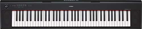 Yamaha NP32 76-Key Lightweight Portable Keyboard, Black (power adapter sold separately)