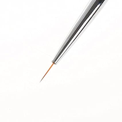 Amazon Nail Art Brushes Long Hair Nail Art Liner Brush Ultra