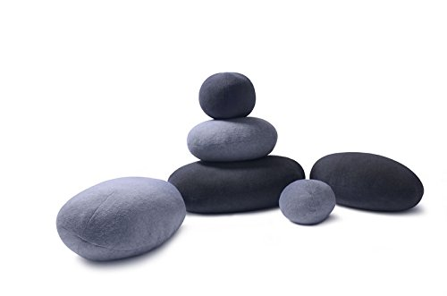 Vercart Living Stone Pillows Floor Cushions Zen Frequency