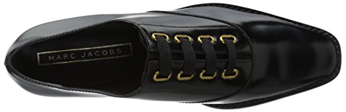 Marc Jacobs Women's Brittany Lace up Oxford, Black, 37 M EU (7 US) by Marc Jacobs (Image #8)