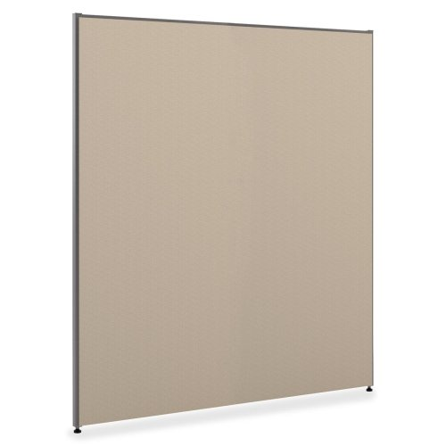"""Basyx Verse Panel System & Accessories-Panel With Glides, 72""""x60"""", Gray"""