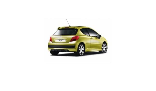 Peugeot - Kit de carrocería con parachoques delantero y trasero deportivo tipo Rcup para Peugeot 207: Amazon.es: Juguetes y juegos