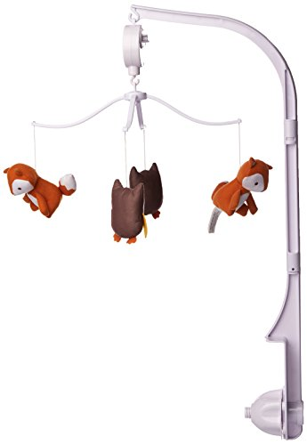 owl crib mobile for girl - 6