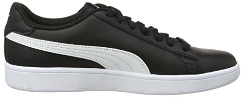 puma Black Smash Noir Adulte Baskets Puma L puma Basses White Mixte V2 gwW7wnqH